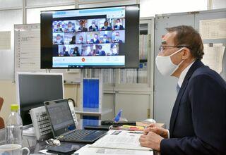 「感染者対応、手厚く」 鳥栖市教育委員会がオンラインで校長研修会