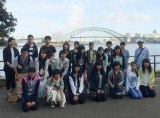 英語コン参加者、オーストラリア研修