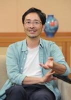 第1回の講師、画家の池田学さん