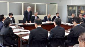 新しい県立高校入試制度に関する議論を始めた「高校教育改革に係る懇話会」=佐賀県庁