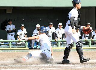唐津商、白石が準決勝へ 九州地区高校野球佐賀大会