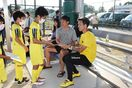 サッカー日本代表小林祐希選手 みやき町で子どもたちと交流