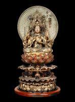 京都・清水寺の秘仏「大随求菩薩坐像」