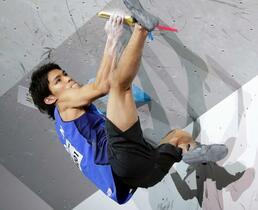 楢崎智亜、「金」で五輪代表