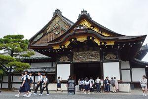 徳川慶喜が諸藩の重臣を集め、大政奉還を諮問した二条城=京都市中京区