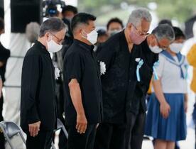 沖縄戦終結76年、犠牲悼む