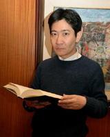 「佐賀人は真面目すぎる。もっと面白がりになった方がいい」と語る歴史学者の磯田道史さん=京都市の国際日本文化研究センター