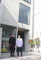 移転オープンしたGATHER唐人本店。2階のメンズは10~20代をターゲットに商品を展開しています。