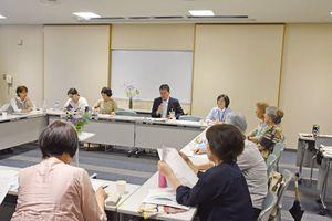 市民と図書館員の意見交換会=佐賀市立図書館