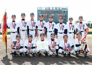 諸富11年ぶりV ドリーム旗争奪中学生軟式野球