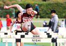 陸上競技 今村がV 高校女子100メートル障害