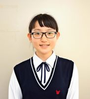 生徒会長 井手綾花さん
