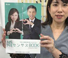 佐賀県が作成した「婚センサスBOOK」