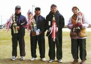 グラウンドゴルフ 千代田GG協会29年3月定例会 上位入賞者