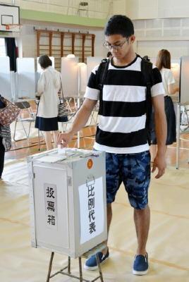 18歳選挙権 高校生6000人アンケート 18、19歳の投票率
