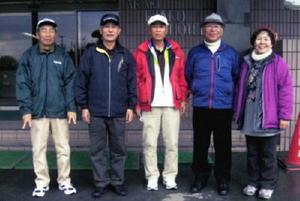 千代田町GG協会荒木観光ホテルGG大会 1日目の上位入賞者