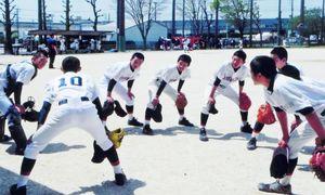 昨年掲載した大町ひじり学園中学部軟式野球部