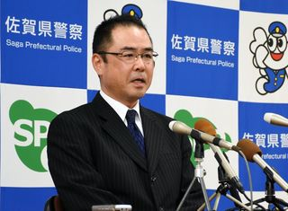 三田県警本部長が着任 事故減、詐欺防止に意欲