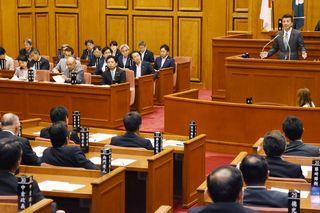 <新幹線長崎ルート>「合意ないこと主張」 知事、長崎県に不快感