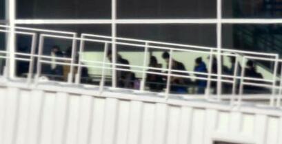 武漢の邦人206人が帰国