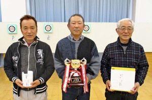 佐賀ヤマト吹矢クラブ1月例会の上位入賞者
