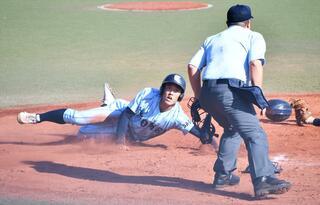 東明館8強 九州高校野球第2日