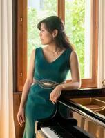 ヨハネス・ブラームス国際コンクールのピアノ部門で3位になった石井楓子さん(本人提供・共同)