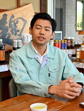 発酵技術を磨き商品開発 丸秀醤油(佐賀市)秀島健介社長(40歳)