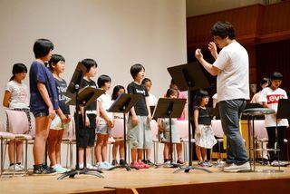 有田の子どもたちがプロ音楽劇に出演