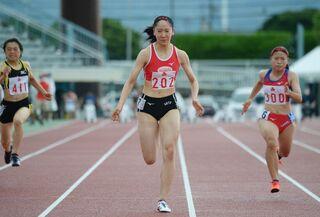 <SSP杯陸上>永石(佐賀北)が「2連覇」 女子100M