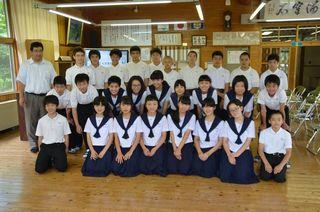 さが維新塾(11) 脊振中(神埼市)で出前授業