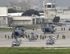米軍大型ヘリ運用停止継続