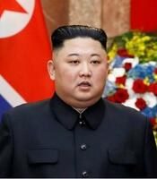 北朝鮮の朝鮮労働党委員長(ロイター=共同)