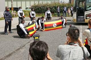 ウガンダ選手団、1人コロナ陽性