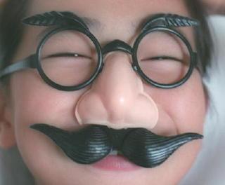 昭和のカケラ 鼻メガネ