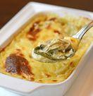 レシピ「牡蠣とほうれん草のグラタン」
