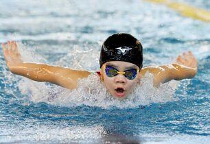 学童五輪、水泳皮切りに熱戦開幕