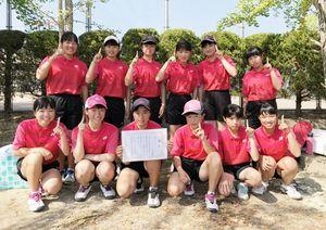 大町ひじり学園中学部・ソフトテニス部