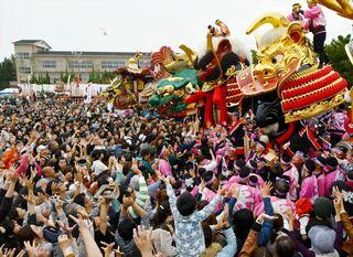 唐津くんち、曳山巡行中止 200年の歴史で初、新型コロナ感染防止で