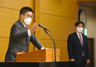 <佐賀2021大雨>中小企業再建へ特例補助 官房長官、被災地支援に言及