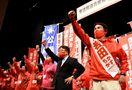 <2021衆院選さが>岩田陣営が佐賀市で決起大会 片山さ…