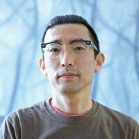 有田町出身の日本画家、原田隆志さん(提供)
