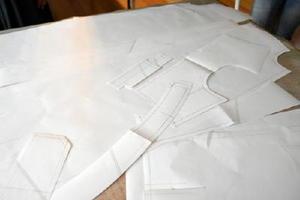 ワンピースの型紙