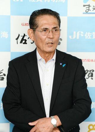 <オスプレイ配備計画>「新体制で議論継続を」 岩田防衛政務官、漁協を訪問