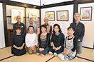 静物や人物画、色彩豊かに 八谷真弓さん絵画教室展