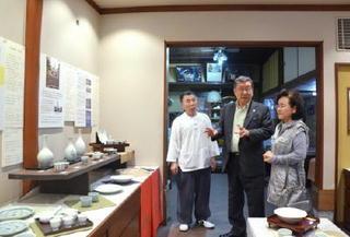 駐日韓国大使、知事と会談 世界遺産登録互いに安堵