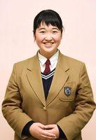 生徒会長 大隈沙希さん
