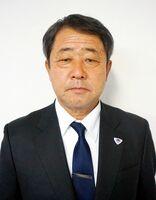 サガン・ドリームスの代表取締役会長に就任した県サッカー協会会長の福岡淳二郎氏