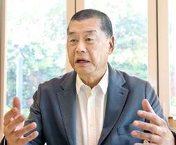 黎智英氏「香港のために闘う」