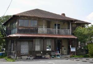 取り壊されることになった19世紀末に建てられた洋館=佐賀市赤松町